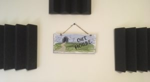 The Outhouse Studio for Tom Rule, middle Georgia musician